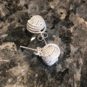 Jewelry - Sterling silver knot earrings